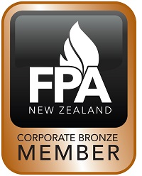 corporate bronze icon